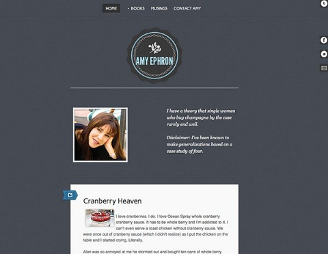Amy Ephron website