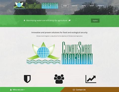 Climate Smart Irrigation website
