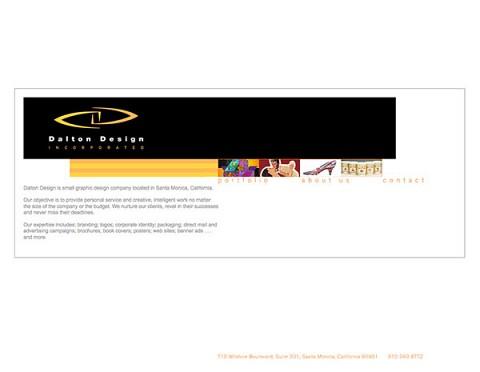 Dalton Design website