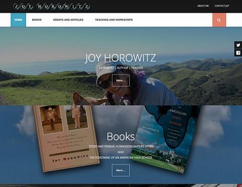 Joy Horowitz website