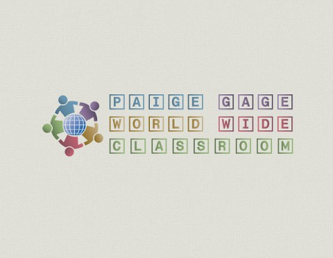 Paige Gage World Wide Classroom logo