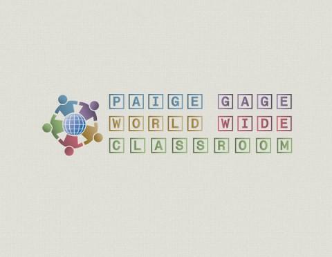 Paige Gage World Wide Classroom logo