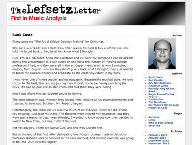 Lefsetz Letter website