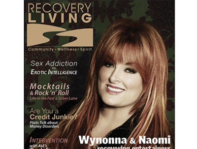 Recovery Living magazine