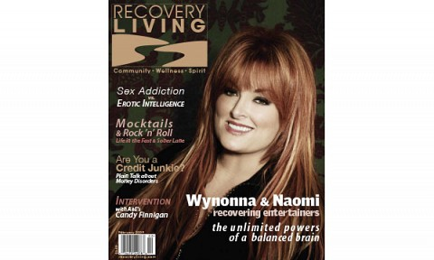 01-Recovery Living Magazine cover