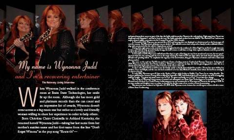 03-Recovery Living Magazine | My Name is Wynonna Judd
