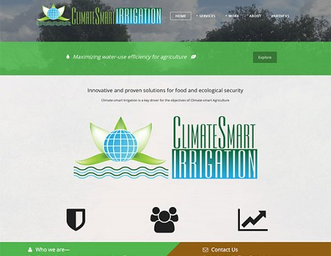Climate Smart Irrigation website