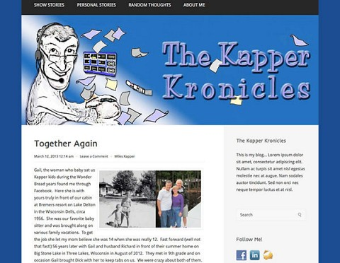 The Kapper Kronicles website